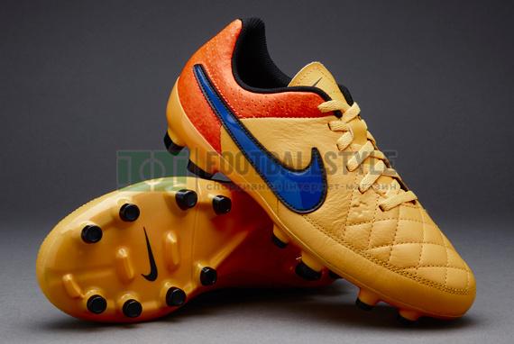 a19dbe75fabe Футбольные бутсы Nike Tiempo Genio Leather FG. Распродажа
