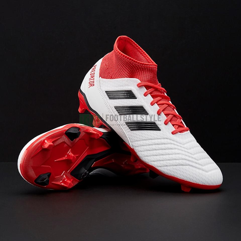 Футбольные бутсы adidas Predator 18.3 FG cb931590ba435