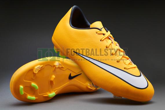 4c3e4148b110 Детские футбольные бутсы Nike Mercurial Victory V FG Junior (651634 ...