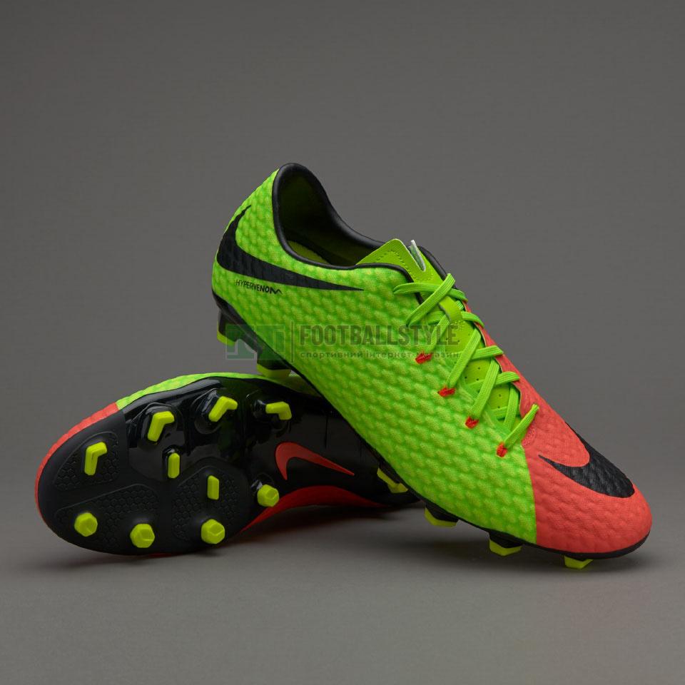 Футбольные бутсы Nike Hypervenom Phelon III FG (852556-308 ... 44138bd0d70