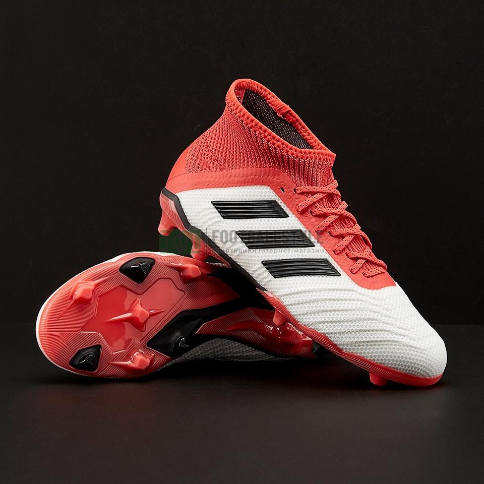 Детские футбольные бутсы adidas Predator 18.1 FG Junior (CP8873 ... e693b4a7c12