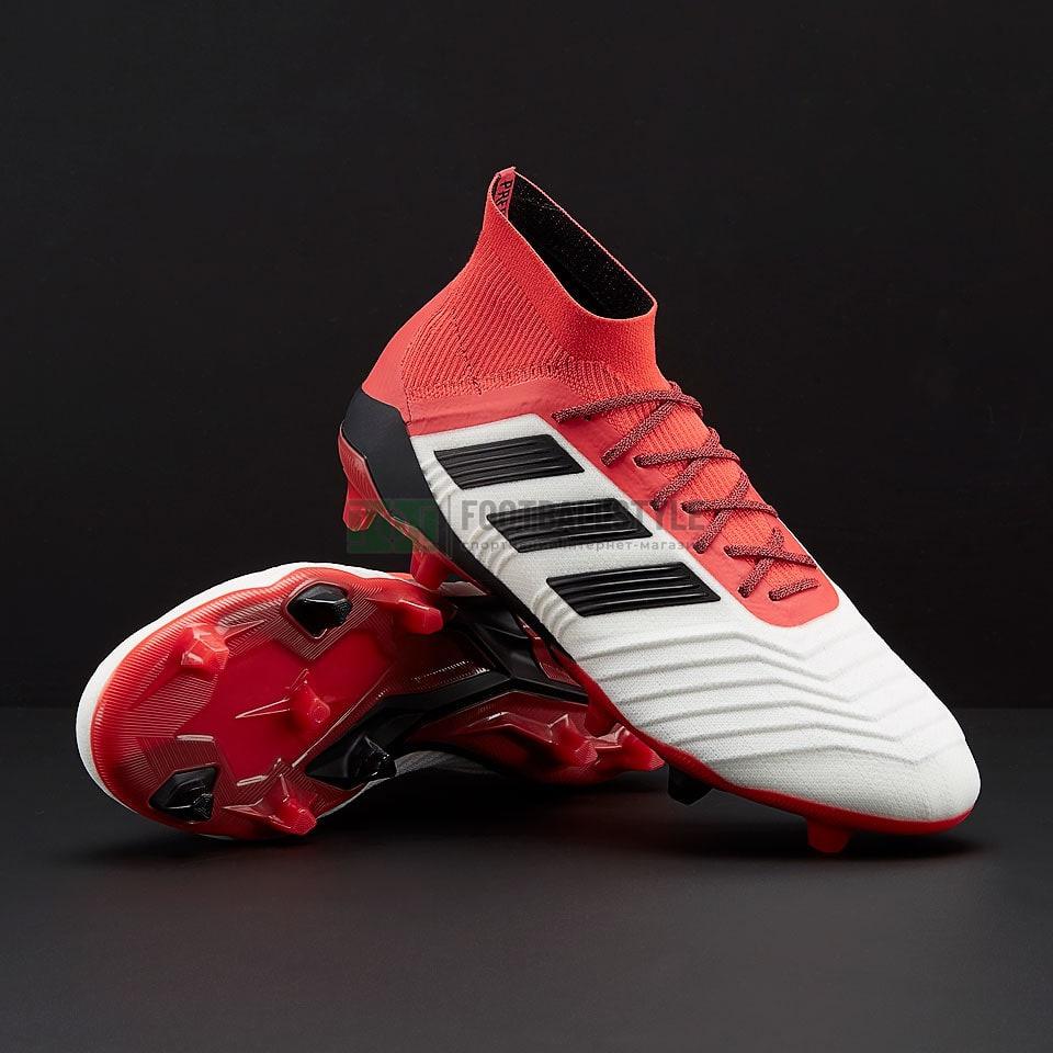 Футбольные бутсы adidas Predator 18.1 FG (CM7410) — Footballstyle f836d0901d9