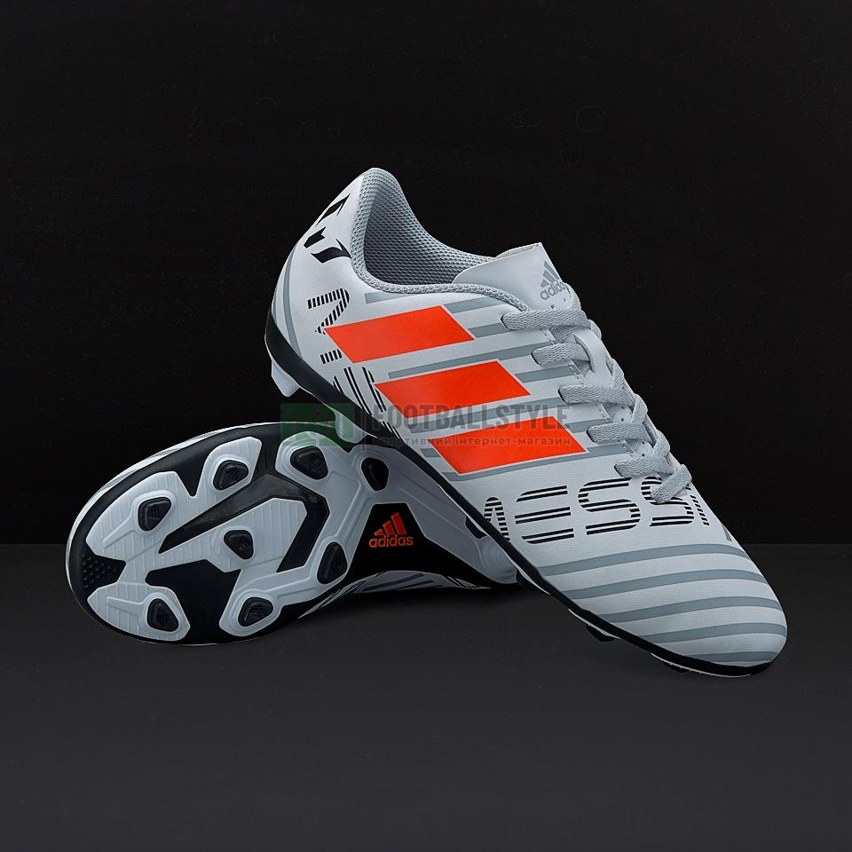 323a48a3 Детские футбольные бутсы adidas Nemeziz Messi 17.4 FxG Junior ...