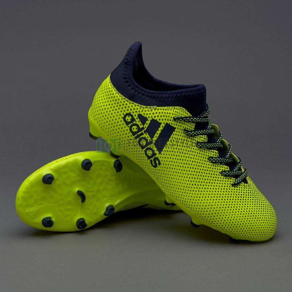 201313a8 Детские футбольные бутсы adidas X 17.3 FG Junior (S82369 ...