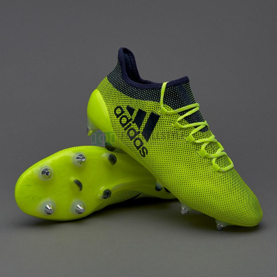 sports shoes 78951 c48b4 Футбольные бутсы adidas X 17.1 SG (S82314) — Footballstyle