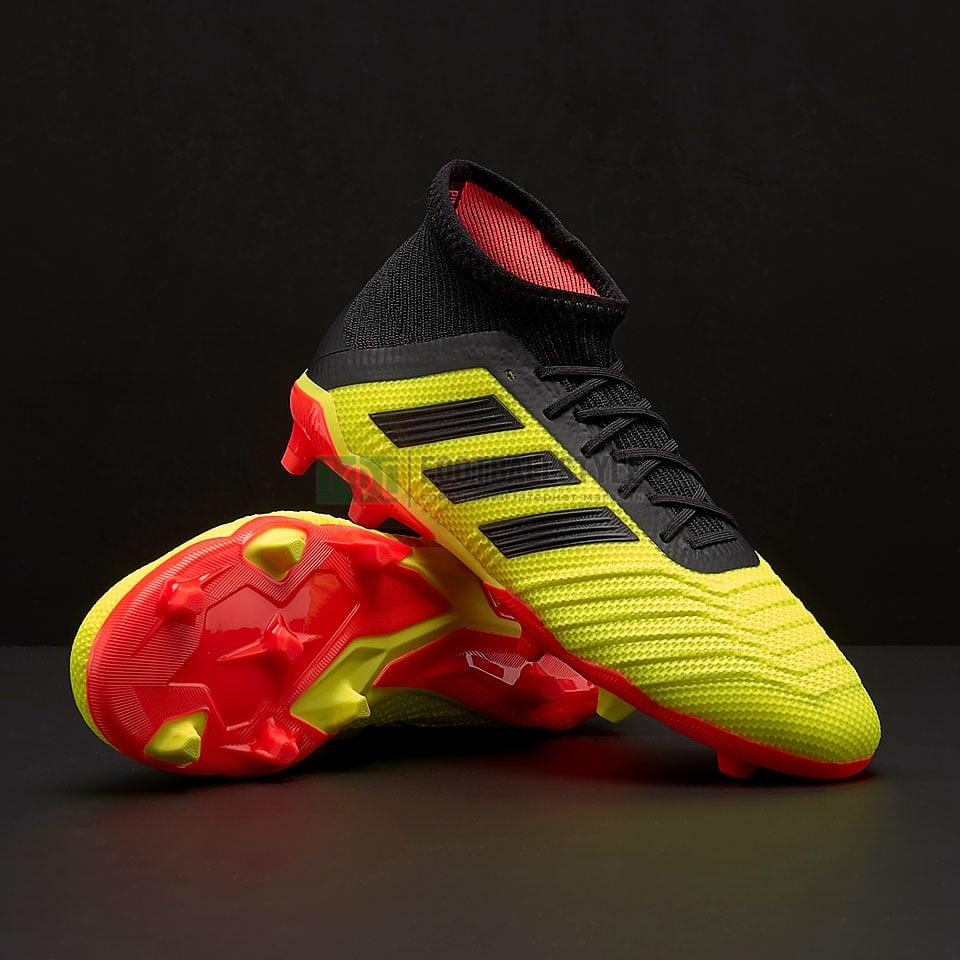 Детские бутсы adidas Predator 18.1 FG Junior (DB2315) — Footballstyle 9a587d3575e