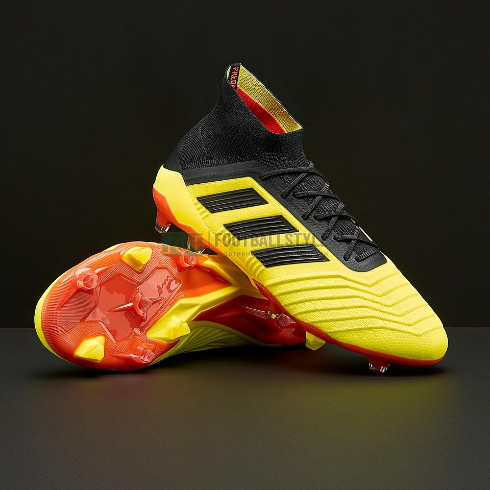 Футбольные бутсы adidas Predator 18.1 FG (DB2037) — Footballstyle 5788fa3bd58