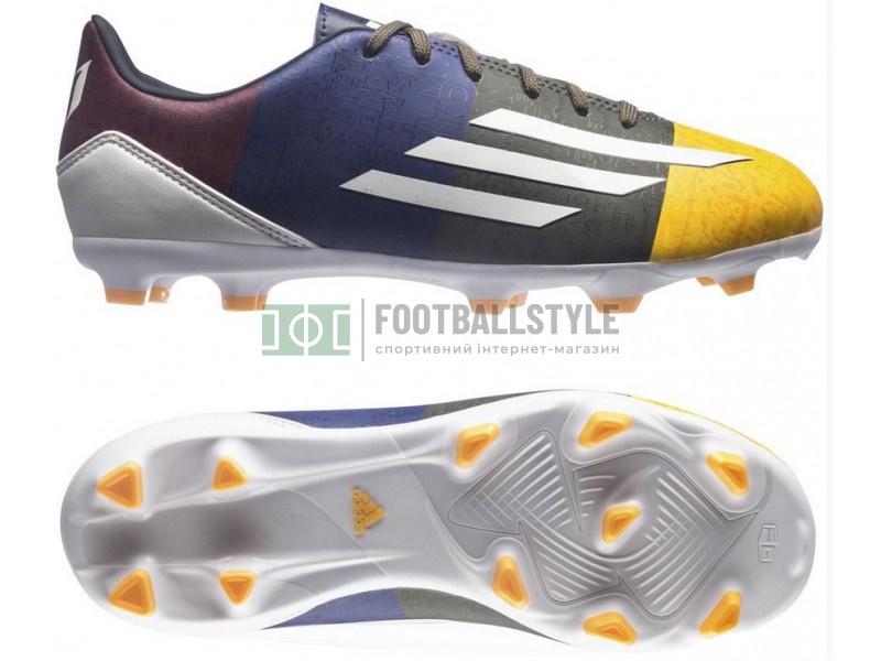 Детские футбольные бутсы Adidas F10 Messi FG Junior (M21765 ... 639598936f01a