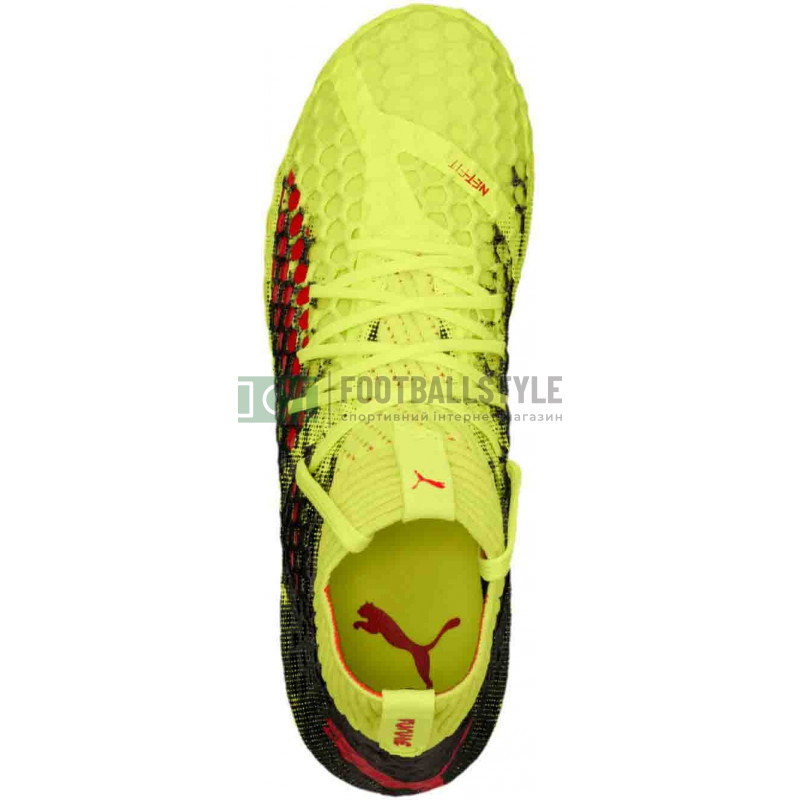 6b98bde6 Детские бутсы Puma Future 18.4 FG Junior (104346 01) — Footballstyle