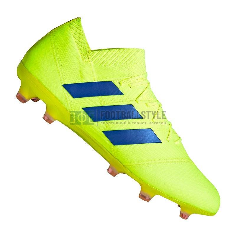 fe2567d8 Футбольные бутсы adidas Nemeziz 18.1 FG (BB9426) — Footballstyle