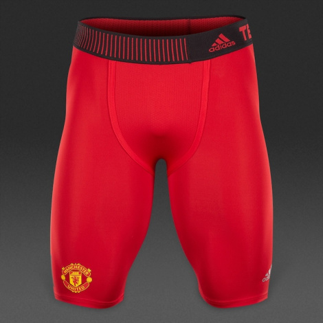 Компрессионные шорты Adidas Tech-Fit Cool Manchester United Compression Short Tight