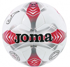 Футбольный мяч Joma EGEO 4 WHITE-RED-GREY SOCCER BALL 4