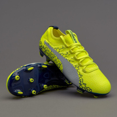 Детские бутсы Puma evoPower Vigor 3 Graphic FG Junior