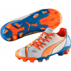 Детские бутсы Puma Evopower 4.2 Graphic FG Junior